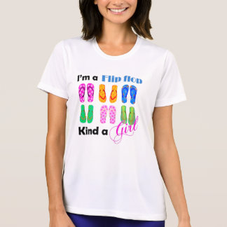 Flip flops girl T-Shirt