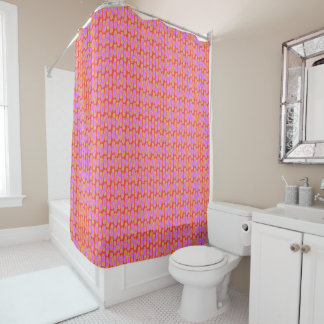 Flip Flops Hawaiian Style Shower Curtain