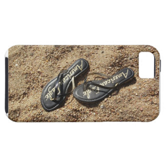 Flip Flops in the Sand iPhone Case
