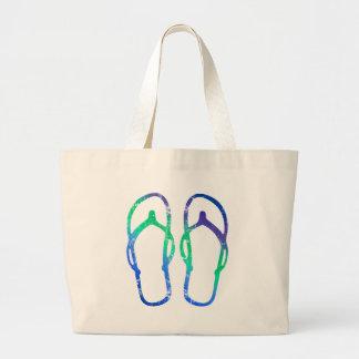 Flip Flops Large Tote Bag
