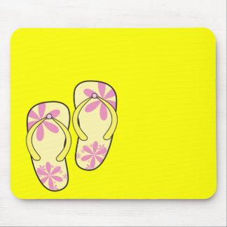 Flip Flops Mouse Pad