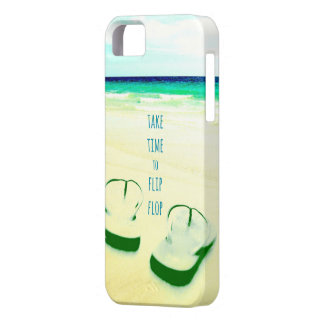 Flip Flops on the Beach Photo Case Case For The iPhone 5