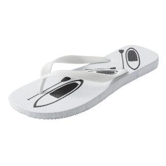 FLIP FLOPS! paddle board Thongs