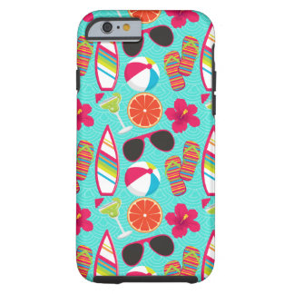 Flip Flops Sunglasses Beach Ball iPhone 6 Case