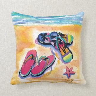 Flip-flops Throw Pillow Throw Cushions