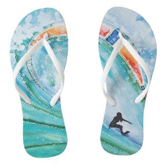 Flip Flops Wahine Surf Girl