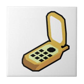 Flip Phone Ceramic Tile