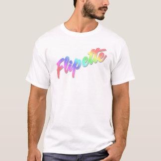 Flipette in rainbow T-Shirt