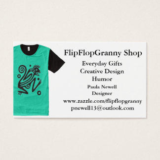 FlipFlopGranny SHOP Business Card