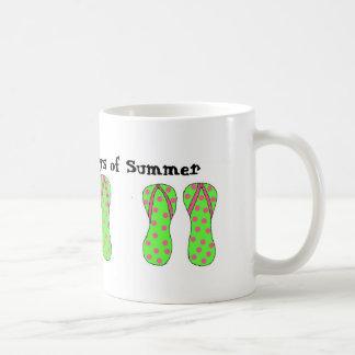 Flipflops - Days of Summer Coffee Mug