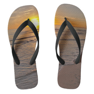 FlipFlops: Sunset by the Beach Thongs