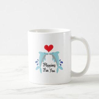 Flipping For You Basic White Mug