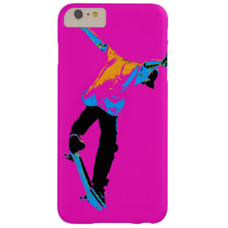 """""""Flipping the Deck"""" Skateboarding Stunt Barely There iPhone 6 Plus Case"""