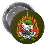 Flippy Flame Tattoo Button