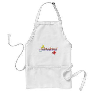 flirt-a-licious! adult apron