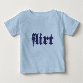 Flirt (blue) tee shirt