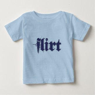 Flirt (blue) tee shirts