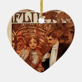 Flirt Ceramic Ornament