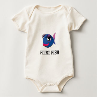 flirt fish baby bodysuit
