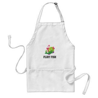 flirt fish yeah standard apron