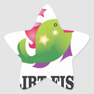 flirt fish yeah star sticker