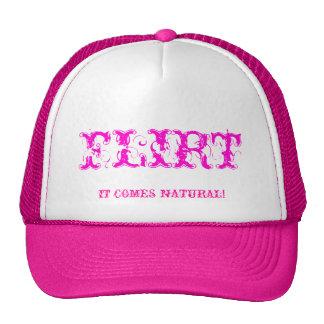 FLIRT, IT COMES NATURAL! MESH HAT