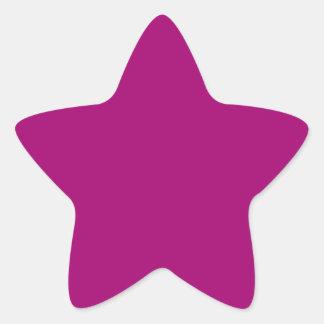 Flirt Purple Background Star Stickers