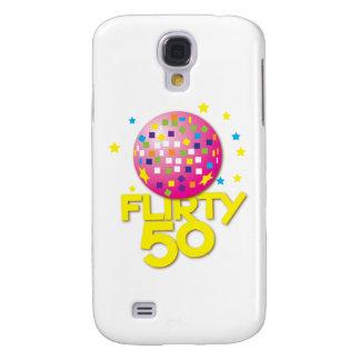 FLIRTY 50 fifty birthday gift present Samsung Galaxy S4 Covers