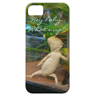 Flirty baby bearded dragon iPhone 5 case