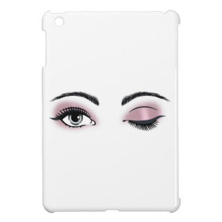 Flirty Eyes iPad Mini Cover