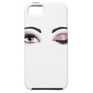 Flirty Eyes Tough iPhone 5 Case