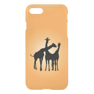 Flirty Giraffe iPhone 7 Case