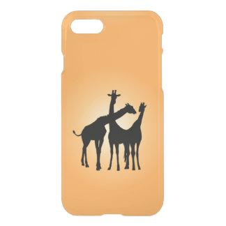 Flirty Giraffe iPhone 7 Case