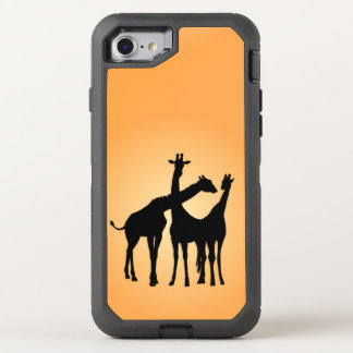 Flirty Giraffe OtterBox Defender iPhone 8/7 Case