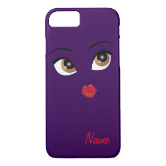 """Flirty Girl"" MONOGRAM iPhone 7 CASE"