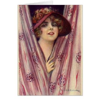 Flirty Lady, Card