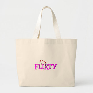 Flirty Large Tote Bag