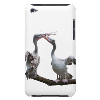 Flirty Pelicans iPod Touch Case (choose colour)