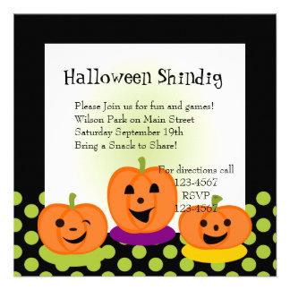 Flirty Pumpkins Invites