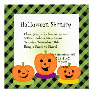 Flirty Pumpkins Invite