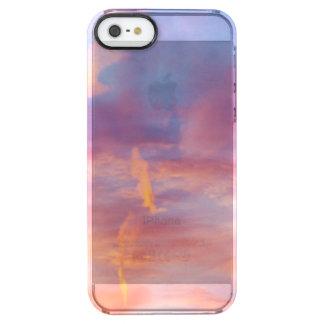 flirty sky clear iPhone SE/5/5s case