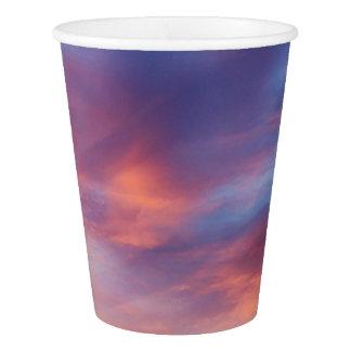flirty sky paper cup