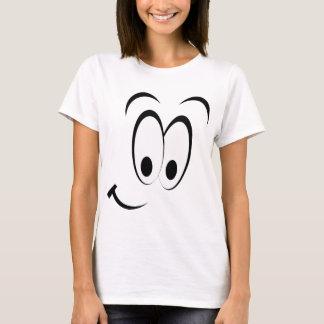Flirty Smiley Face T-Shirt