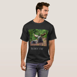 Flirty Wild Moose Photograph Alaska Wilderness T-Shirt