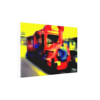 Flit course canvas print