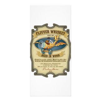 Flivver Whiskey Label Rack Cards