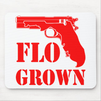 Flo Grown Pistol  FB.com/USAPatriotGraphics Mouse Pad