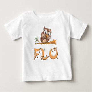 Flo Owl Baby T-Shirt