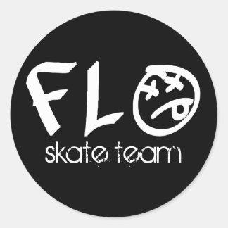Flo Skate Team Sticker Sheet