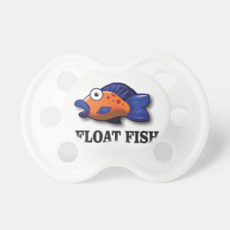 float fish baby pacifiers